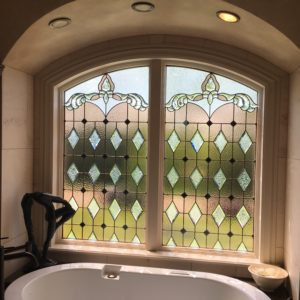 Master Bath Window In Private Residence