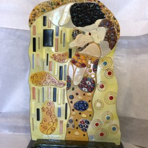 Fused Glass Art Piece